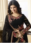 Embroidered Work Trendy Straight Salwar Kameez - 1