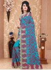 Pure Georgette Traditional Saree - 1