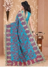 Pure Georgette Traditional Saree - 2