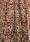 Phenomenal Tafeta Silk Booti Work Long Length Anarkali Suit - 1
