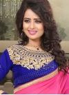 Especial Resham Work Faux Georgette Party Wear Saree - 1