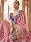 Satin Silk Contemporary Saree - 1
