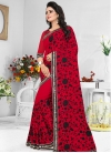 Embroidered Work Contemporary Style Saree - 1