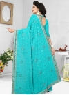 Pure Georgette Embroidered Work Classic Saree - 2