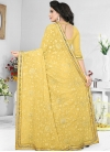 Pure Georgette Embroidered Work Trendy Classic Saree - 2