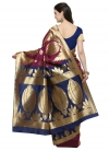 Art Silk Contemporary Style Saree - 1