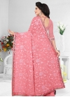 Embroidered Work Pure Georgette Traditional Saree - 2