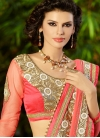 Magnetize Beads And Stone Work Wedding Saree - 1