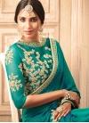 Silk Contemporary Style Saree - 1