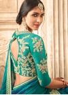 Silk Contemporary Style Saree - 2