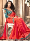Silk Lace Work Traditional Saree - 1