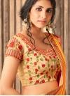 Satin Silk Traditional Saree For Ceremonial - 1