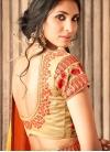 Satin Silk Traditional Saree For Ceremonial - 2