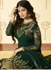 Ayesha Takia Embroidered Work Pant Style Straight Salwar Suit - 2