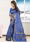 Jacquard Silk Trendy Classic Saree For Ceremonial - 2