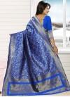 Jacquard Silk Trendy Classic Saree For Ceremonial - 1