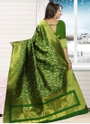Conspicuous Thread Work Contemporary Style Saree - 1