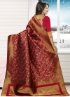 Jacquard Silk Thread Work Traditional Saree - 1