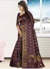 Jacquard Silk Contemporary Saree For Ceremonial - 2