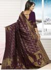 Jacquard Silk Contemporary Saree For Ceremonial - 1