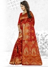 Cherubic Thread Work Traditional Saree - 2