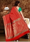 Thread Work Trendy Classic Saree - 2