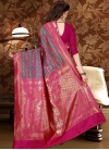 Thread Work Trendy Saree For Festival - 2