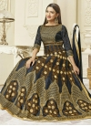 Gauhar Khan Art Silk Booti Work Long Length Designer Suit - 1