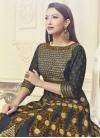 Gauhar Khan Art Silk Booti Work Long Length Designer Suit - 2