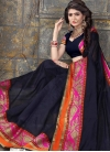 Thread Work Traditional Saree For Casual - 1