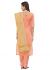 Embroidered Work Trendy Straight Suit - 2