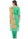Embroidered Work Straight Salwar Suit - 2