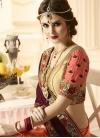 Banarasi Silk Half N Half Saree For Bridal - 1
