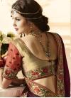 Banarasi Silk Half N Half Saree For Bridal - 2