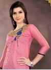 Chanderi Cotton Trendy Pakistani Salwar Kameez - 1