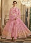 Faux Georgette Embroidered Work Trendy Designer Salwar Kameez - 1