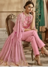 Faux Georgette Embroidered Work Trendy Designer Salwar Kameez - 2