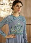 Faux Georgette Layered Designer Salwar Kameez - 2
