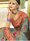 Embroidered Work Designer Traditional Saree - 2