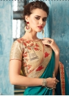 Embroidered Work Trendy Classic Saree For Ceremonial - 1
