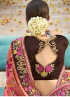 Embroidered Work Contemporary Saree - 2