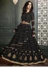 Embroidered Work Layered Designer Salwar Kameez - 1