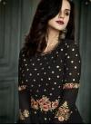 Embroidered Work Layered Designer Salwar Kameez - 2