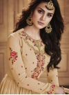 Faux Georgette Long Length Designer Anarkali Suit - 1