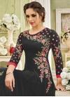 Faux Georgette Floor Length Kalidar Salwar Suit - 1