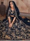 Crepe Velvet Trendy Lehenga For Bridal - 1