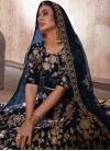 Crepe Velvet Trendy Lehenga For Bridal - 2