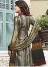 Satin Silk Pant Style Salwar Kameez - 2
