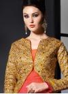 Monumental Stone Work Jacket Style Designer Salwar Suit - 1