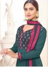 Krystle Dsouza Faux Georgette Embroidered Work Trendy Pakistani Salwar Kameez - 1
